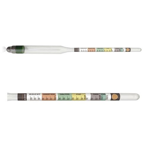 1pcs Hydrometer For Home Brewed Beer Wine Mead Kombucha Making 28 * 5 * 2.5 Cm Practical  Kitchen Accessories Alcohol