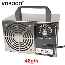 Ozone Generator 48g/h Remove peculiar smell Ceramic Plate Ozonizer Air cleaner removal Formaldehyde Ozone machine With timer