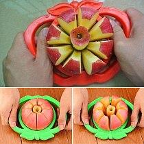 Kitchen Accessories  Stainless Steel Apple Slicer Fruit Vegetable Tools Vegetable Cutter Kitchen Goods Kitchen Tools