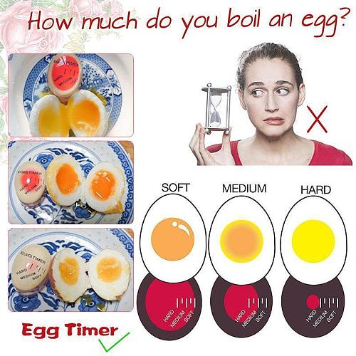 Egg Timer for Boiling Eggs Cooking Tool For Kitchen Accessories