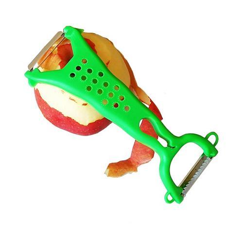 Kitchen Accessories Multi-function Double Head Vegetable Peeler Cutter Julienne Peeler Potato Carrot Grater Kitchen Gadget