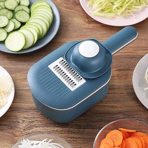 vegetable cutter multifunctional Slicer Fruit Potato Peeler Carrot Grater Kitchen accessories basket vegetable slicer #T2G