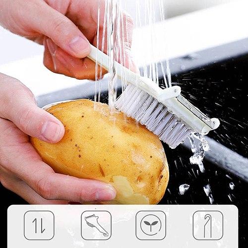 Fruit And Vegetable Peeler 2 In 1 Kitchen Peeler Fruit And Vegetable Peeler Kitchen Tool Peeler With Brush Household Peeler