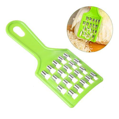 Manual Fruit Vegetable Grater Stainless Steel Cabbage Slicer Vegetables Graters Fruit Potato Peelers Knife Kitchen Gadgets Tools