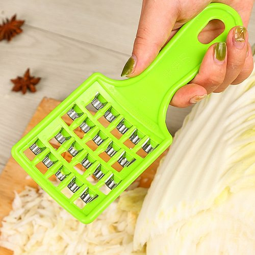 1PC Multi Functional Ginger Garlic Grinding Grater Planer Slicer Cutter Cooking Tool Utensils Kitchen Accessories Random Color
