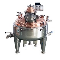 235L Double Wall/ steam jacket  Boiler, Distillation tank,  Tank. Micro Brewery  Tank. Stainless Steel 304
