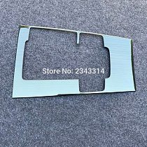 For Mazda 3 2019 2020 RHD Car Console Gearbox Panel Trim Frame Cover Sticker Strips Garnish Decoration Car Styling Accessories