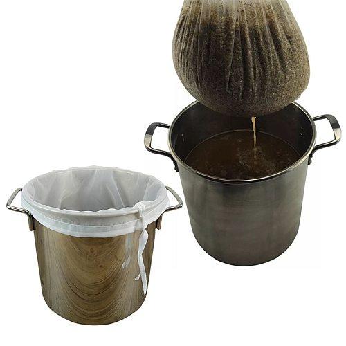 2020 Homemade Beer Filter Bag For Brewing Malt, Boiling Herb Strainer Tool 9 Sizes