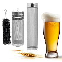300 Micron Mesh Filter Stainless Steel Homebrew Hop Wine Coffee Beer Strainer