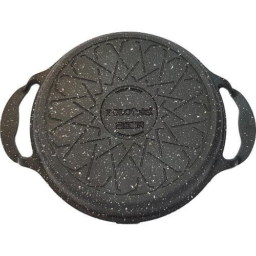 Polo Chef Iron Granite Coating Casting Pan