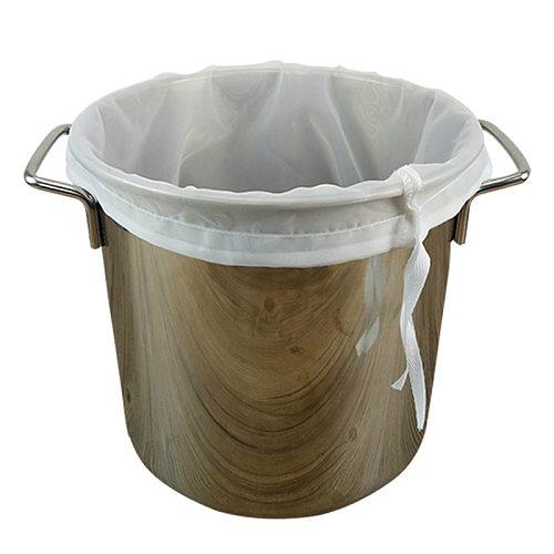 Malt Boiling Wort Mash Strainer Tool Mesh Nylon Food Strainer Bag Nut Juice Filter 120 Mesh Beer Homebrew Filter Bag for Brewing