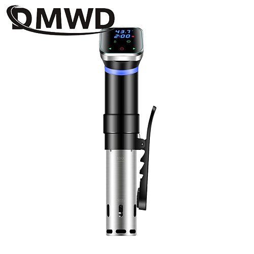 Vacuum Sous Vide Food Cooker Stainless Steel Thermal Immersion Circulator Temperature Timer LCD Digital Cooking Slow Processor