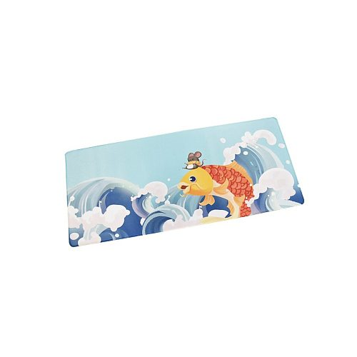 700*300mm  Keyboard Mouse Pad Coral Sea/Ukiyo-E Red/Dark Messenger Large Mouse Pad Keyboard Mat for Home Office