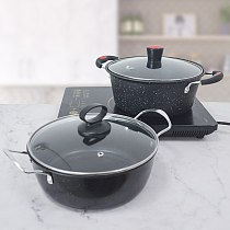 OBR Kitchen Stock Pots Cooking Pot Nonstick Soup Pot Cooking Utensil Saucepan For Gas Induction Cooker Cookware