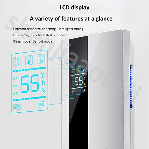 Home energy-saving dehumidifier Quiet dehumidification intelligent frost absorber smart multi-mode type dehumidifier