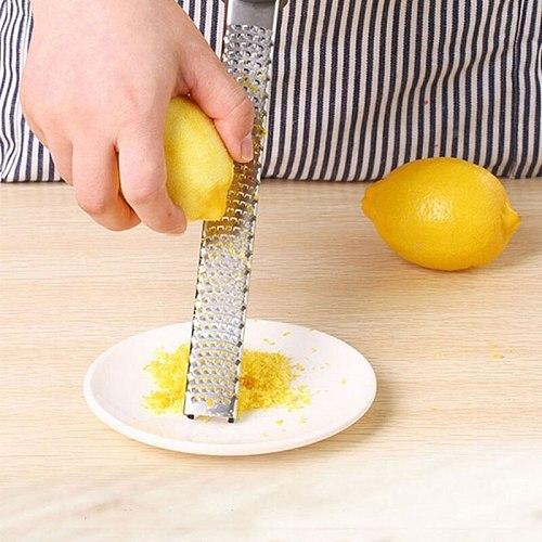Stainless Steel Lemon Cheese Vegetable Zester Grater Peeler Slicer Kitchen Tool Gadgets Fruit Vegetable Chopper
