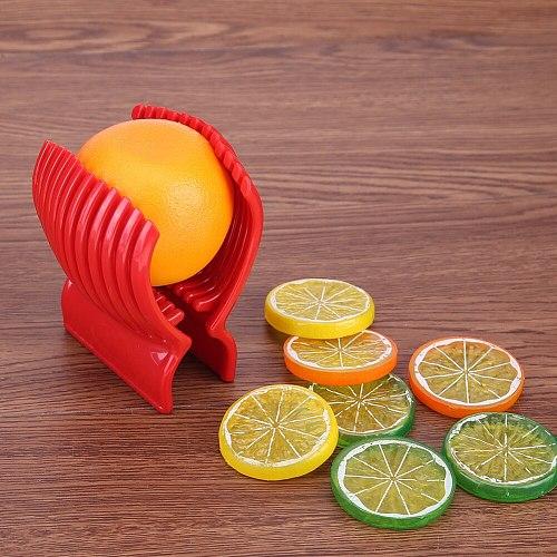 Multi-function Tomato Slicer Cutter Practical Plastic Home Kitchen Lemon Onion Potato Fruit Vegetables Shredder Cook Tool