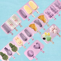 Bake bakeware tool bear lolipops cake molds Round Heart Silicone lollipop mold Flower candy chocolate molds cake decorating form