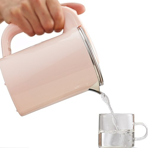 Dual Voltage Travel water Heating Kettle MINI Electric kettle cup heater Portable stainless steel tea pot boiler 110V-220V