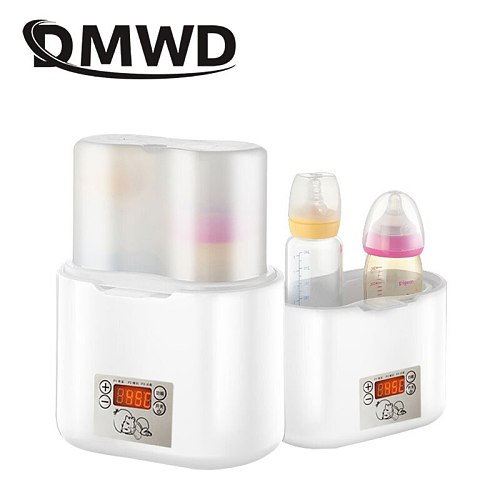 Newborn Baby Feeding Milk Heater Electric Thermal Heating Hot Breast Milk Double Bottle Warmer Eggs Boiler Cooker Food Steamer