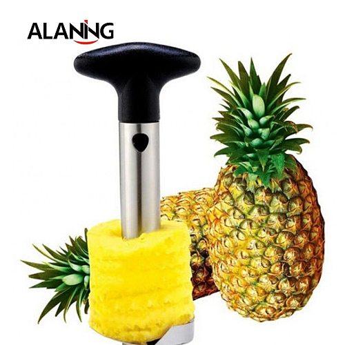 Pineapple Corer Slicer Cutter Peeler Stainless Steel Kitchen Easy Gadget Fruit Knife Peeler Kitchen Tool