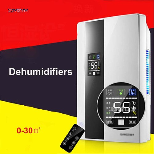 CS10E Mini Dehumidifier for Home Portable 2200ML Moisture Absorbing Air Dryer with Auto-off and LED indicator Air Dehumidifier
