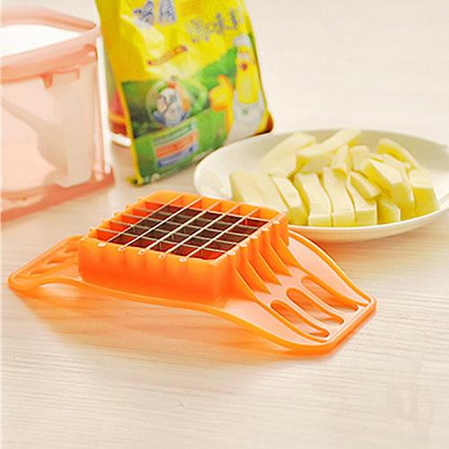 French Fries Cut In Strips Multi-function Slicing Potato Machine Kitchen Gadgets Tool Potato Cutter Color Random Chips Maker