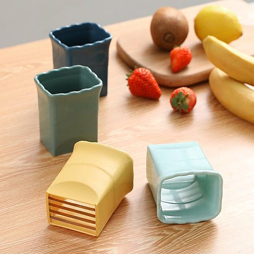 Multifunctional Creative Vegetable Fruit Slicer Cutter Stainless Steel Apple Potato Strawberry French Fries Kitchen Accessories