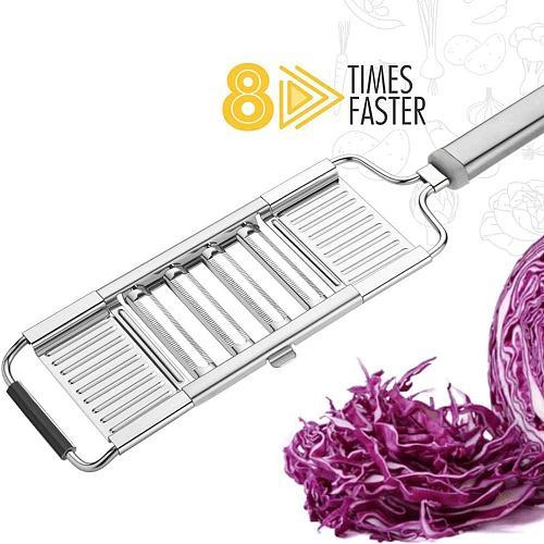 Vegetable Cutter Stainless Steel Multi Blade Mandoline Slicer Potato Peeler Carrot Cheese Grater Vegetable Slicer Kitchen Tool