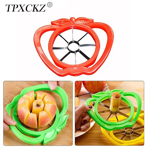 TPXCKz Apple Cutter Knife Corers Fruit Slicer Multi-function Apple Pear Slice Cutter Kitchen Cooking Vegetable Chopper Tools