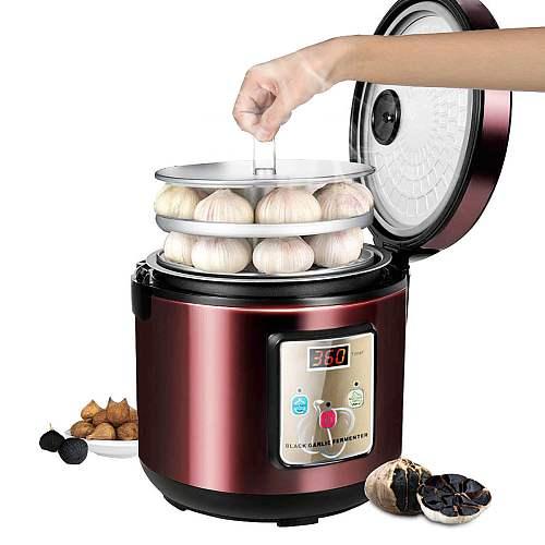 Automatic Black Garlic Fermenter Household DIY Zymolysis Pot Maker 110V 220V Fermenting Machine Kitchen Cooking Tools EU