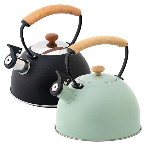 Whistling Kettle For Gas Stove Bouilloire 2.5L/3L/3.5L Stainless Steel Whistle Tea Kettle Water Bottle Tea Pot For Kitchenware
