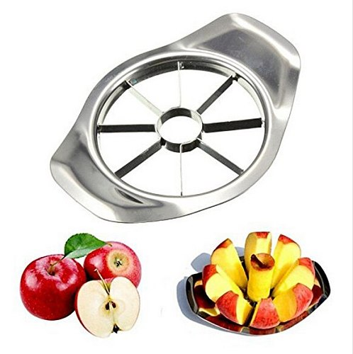 1 Pc Stainless Steel Apple Slicer Vegetable Fruit Tools Kitchen Accessories Seed Cutting Fruit Cutter Fruit Divider