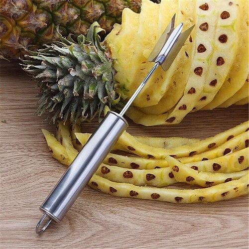 New Creative Pineapple Slicer Stainless Steel Pineapple Eye Peeler Pineapple Seed Remover Knife Dropshipping