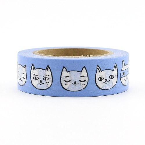 NEW 1X 15mm*10m washi tape DIY Scrapbooking Sticker Label Masking Tape School supply