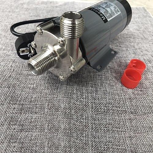 Stainless Steel Wort beer cycle brewing Pump Food Grade Brewing Magnetic Water Pump Home brew Temperature 140C 1/2  BSP/NPT