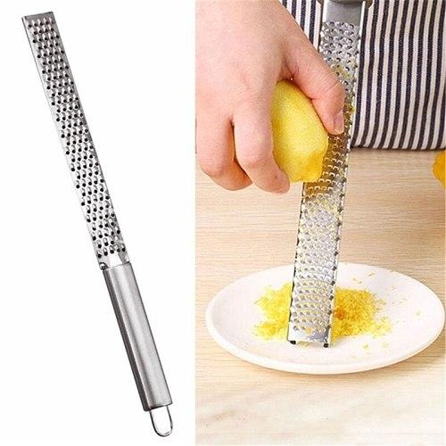 1pcs Potato Cheese Grater Stainless Lemon Cheese Vegetable Fruit Zester Grater Peeler