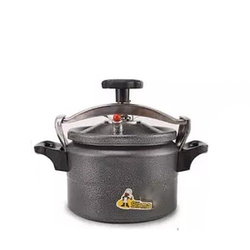 Explosion-proof Small Pressure Cooker Household Aluminum Pressure Cooker Black Open Flame Gas Autoclave Tiger Rice Cooker Pressu