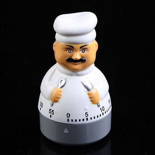 1PC Kitchen Timer Mechanical Kitchen Timer Clock Multipurpose Lovely Kitchen Cooking Tools Countdown Management