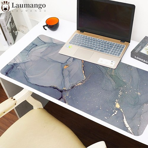 Colorful Marble Keyboard Desk Mat  30x80/90cm Size Gaming Mouse Pads Nature XL Rubber Gaming Pad