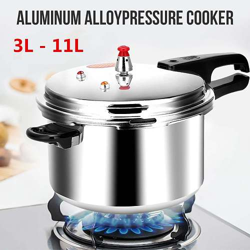 18/20/22/28cm Kitchen Pressure Cooker Electric Stove Gas Stove Energy-saving Safety Cooking Utensils Outdoor Camping 3/4/5/11L