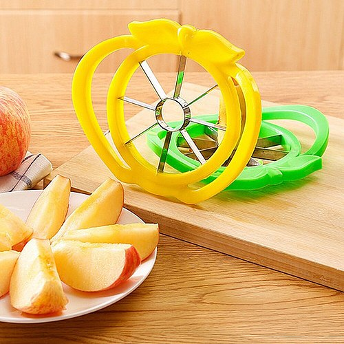 Kitchen Utensils Stainless Steel Apple Cutter Slicer Vegetable Fruit Tools Kitchen Accessories Easy Cut Apple Cutter