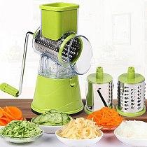 Multifunctional Rotary Grater Vegetable Shredder Slicer Fruit Machine Potato Vegetable Cutter Kitchen Tool