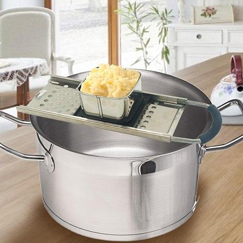 Multi-function New Stainless Steel Noodle Pasta Planer Spaetzle Maker Kitchen Grater Gnocchi Planer