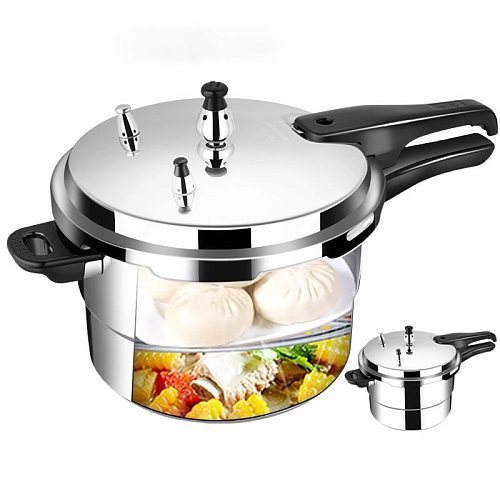 Pressure Cooker Household Gas Induction Cooker Universal Thickened Explosion-Proof Safety Mini Pressure Cooker Commercial