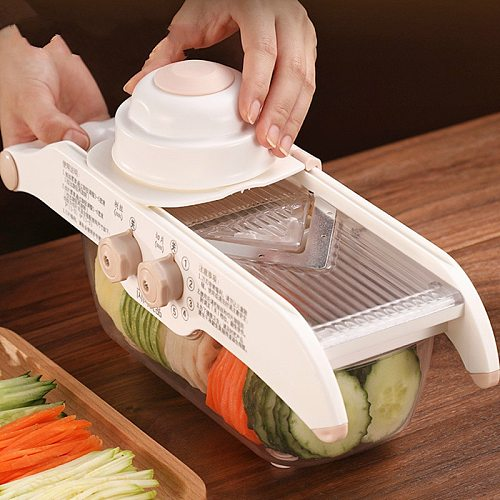 NEW Multifunction Vegetable Cutter Adjustable Food Slicer Dicer Nicer Fruit Peeler Chopper Cutter Carrot Grater Kitchen Tool
