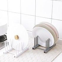 Kitchen Gadget Accessories Dish Plate Drying Rack Kitchen Organizer Drainer Kitchen Tool Plastic Storage Holder Sink Drying Rack