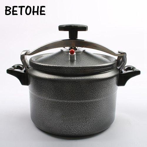 BETOHE Aluminum 3L/4L/5L/7L Explosion-Proof Pressure Cooker Pot Outdoor Camping Pot High Elevation Pressure Cooker