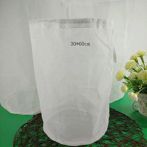 Home Beer Brew 120mesh nylon filter bag rice wine grape residue bag tofu beverage edible oil filter bag