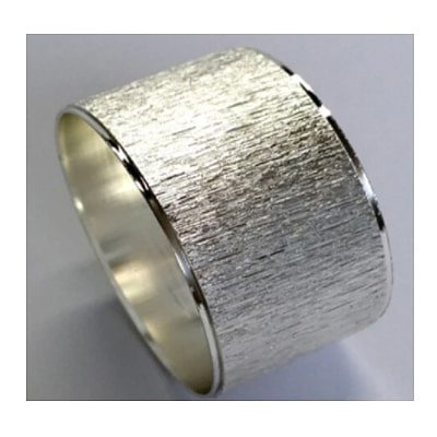 6pcs Uk style Good quality Light Round Alloy Scrub Silver Napkin Rings For Weddings Home Table Accesorries Napkin Holder
